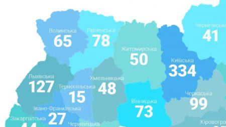 КУБ карта України