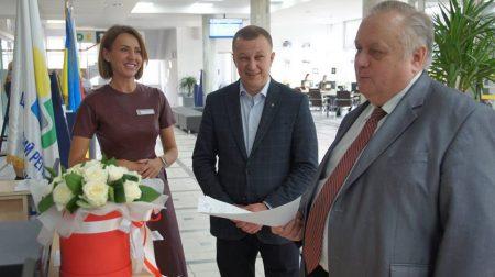 Володимир Хомко відвідав рівненський ЦНАП