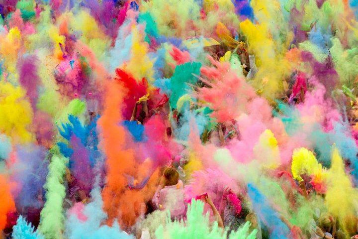 Фестиваль фарб Холі